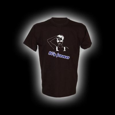 80s Forever - T-Shirt mit Rundhalsausschnitt