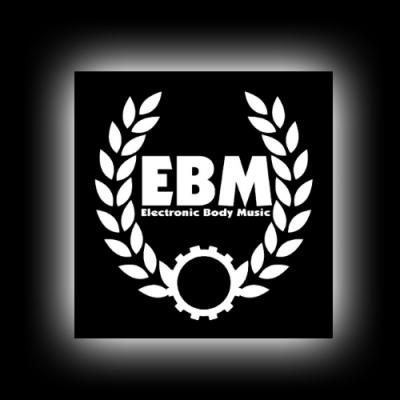 EBM 3 - Kranz - Aufkleber für glatte Oberflächen