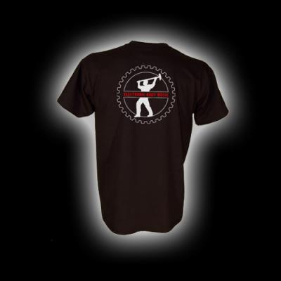 EBM 4 - Man mit Hammer - T-Shirt mit Rundhalsausschnitt