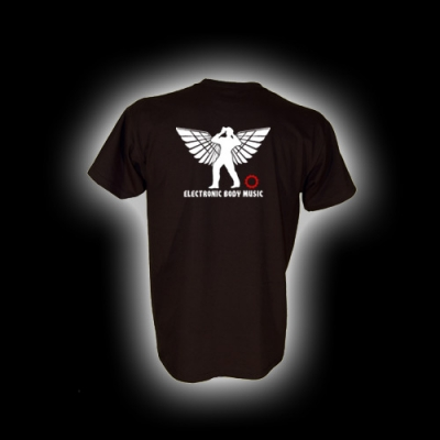 EBM 5 Späher mit Zahnrad - T-Shirt mit Rundhalsausschnitt
