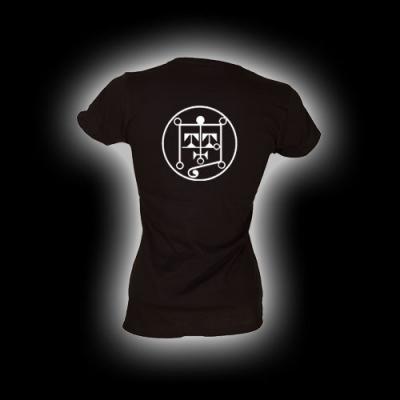Symbol Botis - Damen Girlie-Shirt mit Rundhalsausschnitt