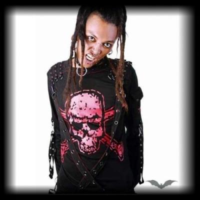 Schnallen- Herren T-Shirt - Skull 666