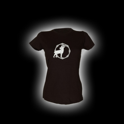 Steinbock - Damen Girlie-Shirt mit Rundhalsausschnitt