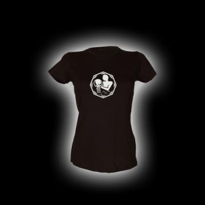 Wassermann - Damen Girlie-Shirt mit Rundhalsausschnitt