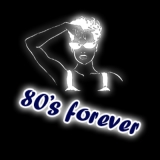 80s Forever - Damen Girlie-Shirt mit Rundhalsausschnitt
