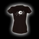 Bad Spider - Damen Girlie-Shirt mit Rundhalsausschnitt