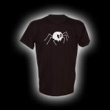 Bad Spider- T-Shirt mit Rundhalsausschnitt