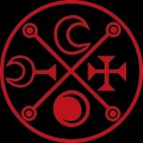 Symbol Decarabia - T-Shirt mit Rundhalsausschnitt