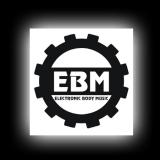 EBM 1 - Zahnrad - Aufkleber für glatte Oberflächen