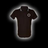 EBM 1 - Zahnrad - Polo-Shirt mit Kontraststreifen
