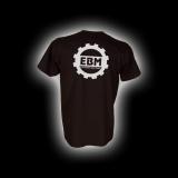 EBM 1 - Zahnrad - T-Shirt mit Rundhalsausschnitt