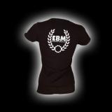 EBM 3 - Kranz - Damen Girlie-Shirt mit Rundhalsausschnitt % SALE %