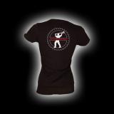 EBM 4 - Man mit Hammer - Damen Girlie-Shirt mit Rundhalsausschnitt