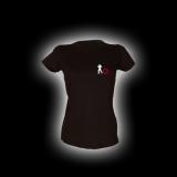 EBM 5 Späher mit Zahnrad - Damen Girlie-Shirt mit Rundhalsausschnitt