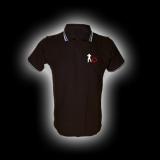 EBM 5 Späher mit Zahnrad - Polo-Shirt mit Kontraststreifen