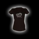 Fabulous 50s - Damen Girlie-Shirt mit Rundhalsausschnitt