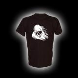 Ghost Skull - T-Shirt mit Rundhalsausschnitt