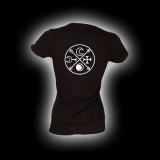 Symbol Decarabia - Damen Girlie-Shirt mit Rundhalsausschnitt