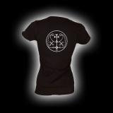 Symbol Haures - Damen Girlie-Shirt mit Rundhalsausschnitt