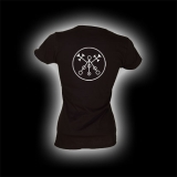 Symbol Marbas - Damen Girlie-Shirt mit Rundhalsausschnitt