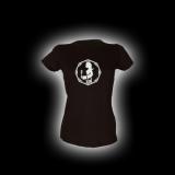Jungfrau - Damen Girlie-Shirt mit Rundhalsausschnitt