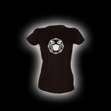 Krebs - Damen Girlie-Shirt mit Rundhalsausschnitt
