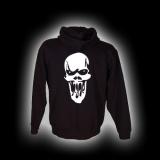 Scream Skull - Herren - Kapuzenjacke mit Reißverschluss