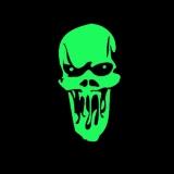 Scream Skull - T-Shirt mit Rundhalsausschnitt