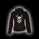 Wikinger Skull - Damen - Kapuzenjacke mit Reißverschluss