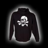 X Skull - Herren - Kapuzenjacke mit Reißverschluss
