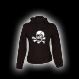 X Skull - Damen - Kapuzenjacke mit Reißverschluss