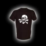 X Skull - T-Shirt mit Rundhalsausschnitt